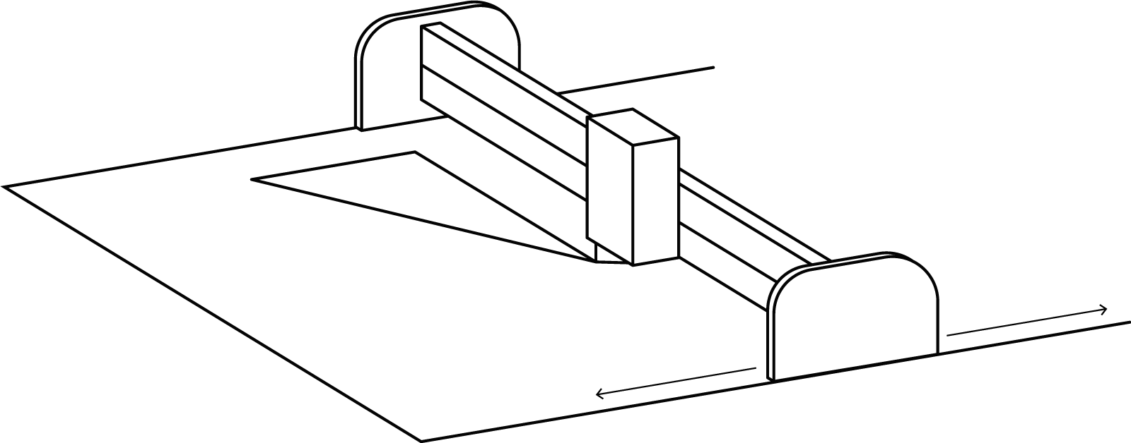Fin tech Tekening snijmachine transp 002